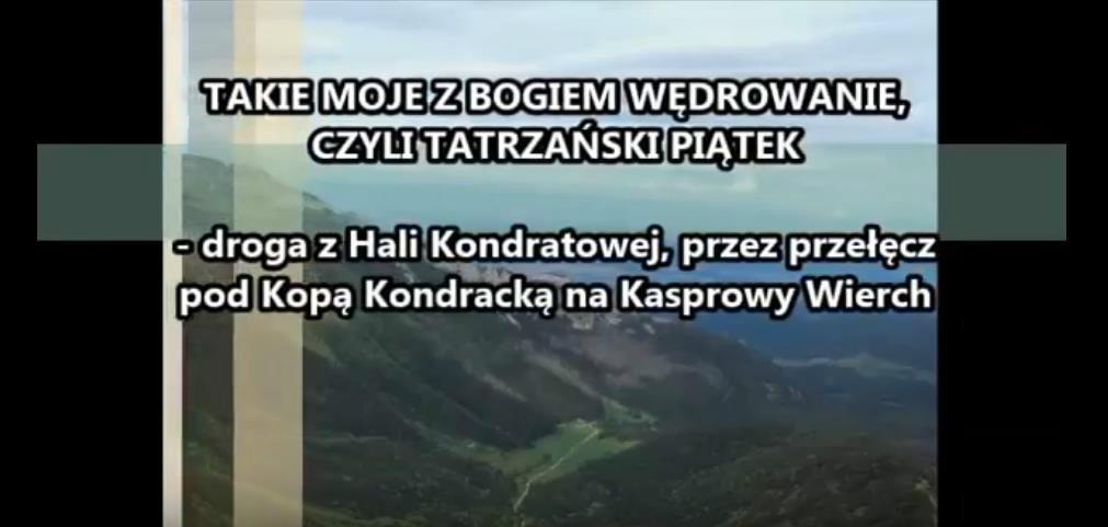 """Aleksander Bańka: """"Z Bogiem wędrowanie"""""""