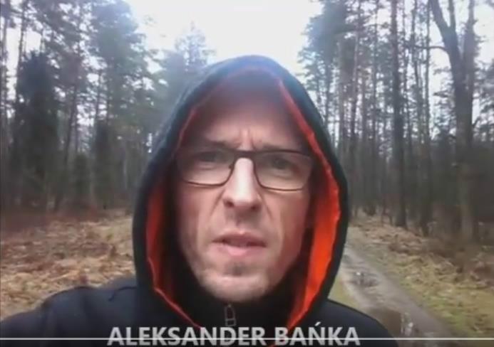 """Aleksander Bańka, """"Idźcie i głoście - zaproszenie"""""""